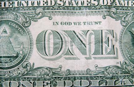 Dollar bill XSmall